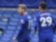 Auch zwei Tore von Timo Werner (l) und ein Havertz-Treffer reichten Chelsea gegen Southampton nicht zum Sieg. Foto: Ben Stansall/Pool AFP/AP/dpa
