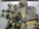 Soldaten trainieren mit einem G36 Gewehr im Schießausbildungszentrum auf dem Kasernengelände des Kommandos Spezialkräfte (KSK). Foto: picture alliance / Franziska Kraufmann/dpa