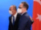 Bundesaußenminister Heiko Maas empfängt seinen türkischen Amtskollegen Mevlüt Cavusoglu (l) in Berlin. Foto: Annegret Hilse/Reuters Pool/dpa
