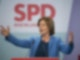Malu Dreyer, Ministerpräsidentin von Rheinland-Pfalz stellt auf dem digitalen Landesparteitag der SPD in Mainz den Koalitionsvertrag vor. Foto: Boris Roessler/dpa