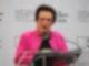 Der frühere Tennisstar Billie Jean King war bei der Grundsteinlegung eines LGBTQ+-Museums in New York dabei. Foto: Christina Horsten/dpa