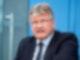 Jörg Meuthen, Bundesvorsitzender der AfD, äußert sich in der Bundespressekonferenz zum Ausgang der Bundestagswahl. (Archivbild). Foto: Bernd von Jutrczenka/dpa