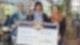 Scheckübergabe an Amalie, eine Einrichtung der Stiftung Liebenau