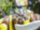 Kinder im Bienenkarussell Drachenkindertag 2018